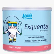 Muke Pré-Treino Exquenta Pink Lemonade 300g +Mu - Maismu