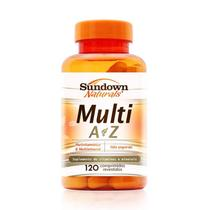 Multi A-Z Mix de Vitaminas e Minerais Sundown 120 cápsulas - Sundown naturals vitaminas