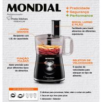 Multi Processador Mondial Pratic Kitchen Premium Mp -13