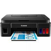 Multifuncional Canon Maxx Tinta G2100, Preto, Impressora, Scanner, Copiadora -