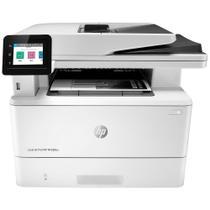 Multifuncional HP LaserJet PRO M428FDW Laser, com Função ADF, Monocromática , Wi-Fi, Copiadora, Fax e Scanner, Branca, 110V -