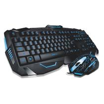 Multilaser Light Led Mouse + Teclado Gamer Multilaser - Tc195 -