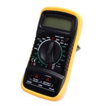 Multimetro Digital Aviso Sonoro Leitor Lcd Com Cabo - Exbom