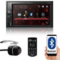 """Multimídia 2 Din Pioneer DMH-G228BT Tela 6,2"""" Bluetooth USB Auxiliar TouchScreen + Câmera de Ré -"""