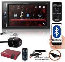 "Multimídia 2 Din Pioneer DMH-G228BT Tela 6,2"" Bluetooth USB Auxiliar TouchScreen + Câmera Ré + Receptor Sintonizador TV Digital -"