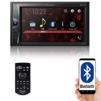 "Multimídia 2 Din Pioneer DMH-G228BT Tela 6,2"" Polegadas Bluetooth USB Entrada Auxiliar e TouchScreen -"