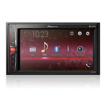 """Multimídia 2 DIN Pioneer MVH-A218BT Tela 6,2"""" - Espelhamento Android Bluetooth Entrada USB + Câmera de Ré -"""