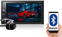"""Multimídia 2 Din Pioneer MVH-G218BT Tela 6,2"""" Polegadas Com Bluetooth Entrada USB Entrada Auxiliar MP3 e TouchScreen + Câmera de Ré -"""