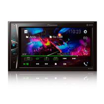 "Multimidia 2 DIN Receiver Player Pioneer DMH-G228BT Bluetooth - C/ Controle Remoto / Tela 6.2"" Touch / Entrada Camera Ré -"