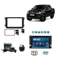 Multimidia Amarok 2017 Dvd Tv Moldura Camera E Interface - Dmfacessorios