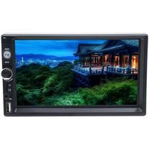Multimídia Automotivo Ecopower EP-619 7 Polegadas com Bluetooth USB SD Auxiliar Preto -