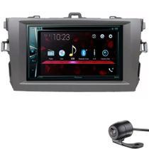 Multimídia Dvd Pioneer 2 Din Corolla 2009 A 2014 + Câmera -