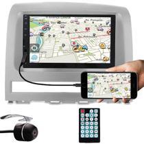 Multimídia Fiat Palio Strada Idea Siena Weekend 2003 à 2011 Espelhamento Bluetooth USB SD Card + Moldura + Câmera Ré - E-Tech / Tiger / H-Tech