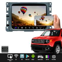 Multimídia Jeep Renegade Pcd 7 Pole Android 9 Tv Gps - Jr8