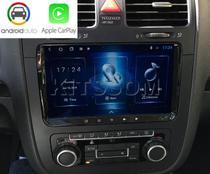 Multimídia Jetta S300+ Android Auto CarPlay 2007 a 2018 - Volkswagen
