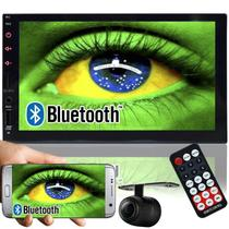 Multimídia Mp5 Automotivo 2 Din Tela 7 MID-7820 Fm Usb Aux Bluetooth Espelhamento Câmera de Ré Gps - First option