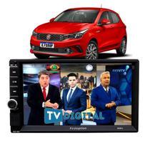 Multimídia MP5 Fiat Argo 2018 2019 2020 2021 Tv Digital Usb - First Option