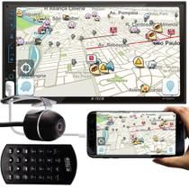 Multimídia MP5 H-Tech HT-3220TV TV Digital Integrado Espelhamento Android IOS Bluetooth + Câmera de Ré -