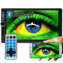 Multimídia Mp5 Player Automotivo 2 Din D722BT Bluetooth Espelhamento Android - Exbom