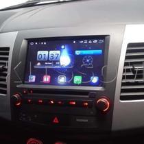 Multimídia Outlander 2008 à 2013 Android M1 - Mitsubishi