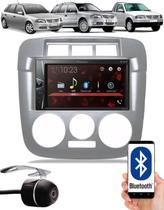 Multimídia Pioneer DMH-G228BT Vw Gol Saveiro Parati G4 Bluetooth USB + Câmera Ré - Preto ou Prata -
