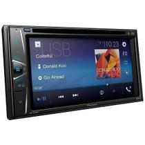Multimídia Pioneer Dvd Avh G218bt 2 Din Bluetooth Mp3 Usb