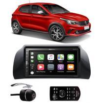 Multimídia Pioneer Fiat Argo DMH-ZS5280TV Tv Digital Bluetooth + Câmera de Ré - Pioneer + Ludovido