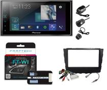 Multimídia Pioneer Sph-da138tv + Interface + Chicotes + Adaptador + Moldura 2 din Creta