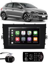 Multimídia Pioneer Vw Novo Polo 2018 2019 2020 DMH-ZS5280TV Tv Digital Bluetooth + Câmera de Ré - Pioneer + Ludovido