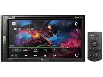 Multimidia Receiver com DVD Player AVH-A318BT - Tela LCD 6,8 Espelhamento via Cabo para Android