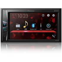 "Multimidia Receiver Pioneer AVH-G228BT 6.2"" DVD Player Bluetooth USB AM FM Auxiliar Entrada Camera De Re -"