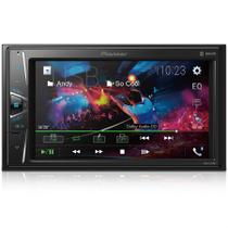 Multimidia Receiver Pioneer MVH G218BT Tela 6,2 USB Bluetooth AUX e Entrada Camera de Re -