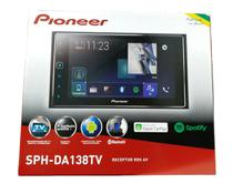 Multimidia Receiver Pioneer Sph-da138tv Tela 6.2 Capacitiva bluetooth tv digital usb -