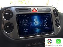 Multimídia Tiguan S300+ Android Auto CarPlay 2009 a 2018 - Volkswagen