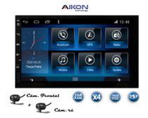 Multimidia Universal Aikon 2gb de RAM Android 9.0 + Câmera de Ré e Frontal -