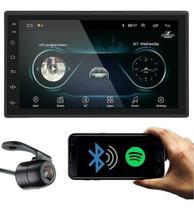 Multimídia Universal Wifi Espelh. Ios Android 9.0 Gps Igo + Câmera Ré -