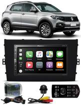 Multimídia Vw T-Cross PCD Pioneer DMH-ZS5280TV Tv Digital Bluetooth Interface Comando Volante + Câmera Ré Tartaruga -