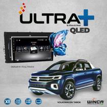 Multimídia Winca Ultra+ Volksvagem Tarok, Android 10, Tela QLed,C/cam frontal e Tv Full Hd -
