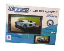 Multimídia Winner Car MP5 Player 7 Com Espelhamento -