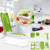 Multiprocessador Cortador Fatiador Picador Ralador Legumes Verduras Frutas Queijos - Nicer