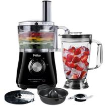 Multiprocessador de alimentos 800W 3 em 1 preto - All In One 2 Citrus (110V) - Philco