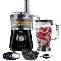 Multiprocessador Philco All In One 2 Citrus 3 em 1 800W Preto - 220V