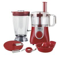 Multiprocessador Philco All In One Citrus, 800 Watts, Vermelho