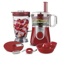 Multiprocessador Philco All In One + Citrus Vermelho 800W