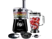 Multiprocessador Philco Preto All In One 2 Citrus - 2 Velocidades + Pulsar 800W - 110 V