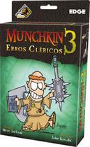 Munchkin 3 Erros Cléricos - Galápagos Jogos