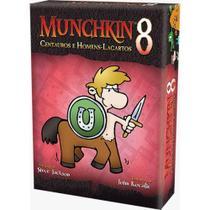 Munchkin 8: Centauros E Homens-largartos Exp. Galápagos - Galápagos Jogos
