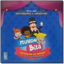 Mundo Bita - Livro Adesivo - Ediouro ( normal )