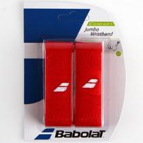 Munhequeira Babolat Jumbo com 02 Unidades (Vermelha) -