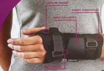 Munhequeira com Tala para Punho (Órtese) Mão Direita Confort  AIR da Hidrolight -